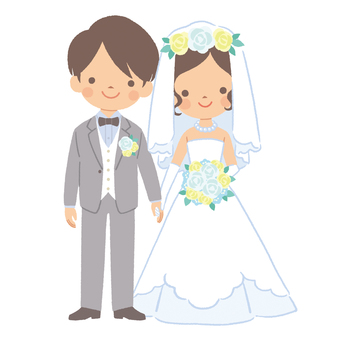 Two people getting married 3