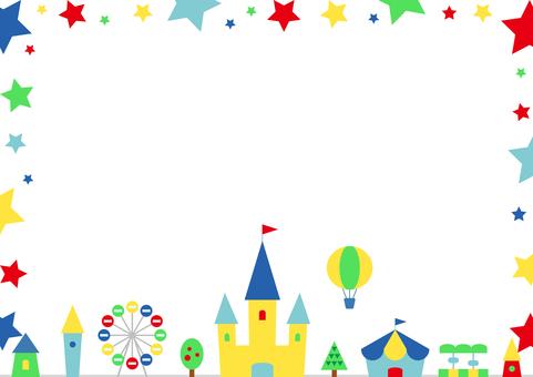 Star frame amusement park