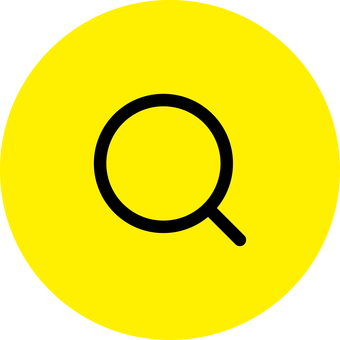 Magnifying glass _ icon _ yellow