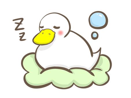 Sleeps and sleeps