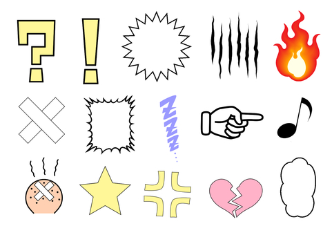 Various marks