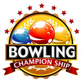 Bowling Competition Emblem-127