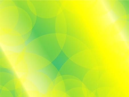 黃色和綠色漸變