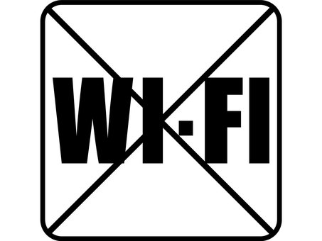 Graphic WI-FI is prohibited
