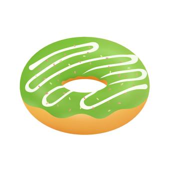 초코 절벽 도넛 (말차)