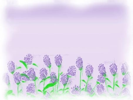 Oil paint lavender