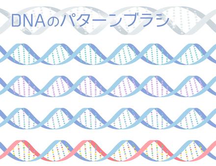 DNAのパターンブラシ