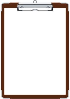 紙ばさみ 클립 보드 프레임