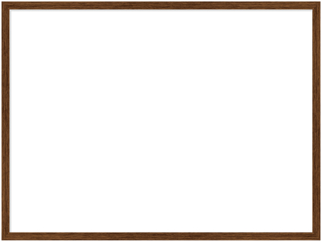 White board (wooden frame style)