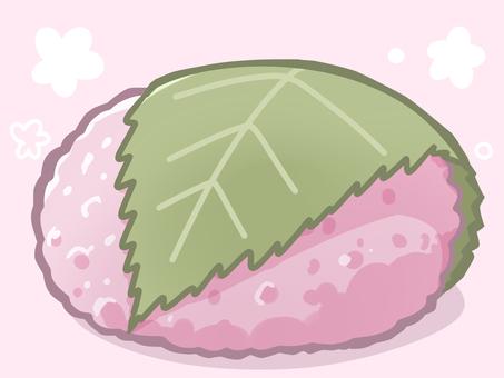 Sakura rice (Michijyoji Mochi)
