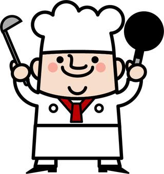 아저씨 요정 요리사