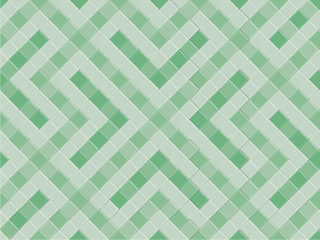 Color tile green