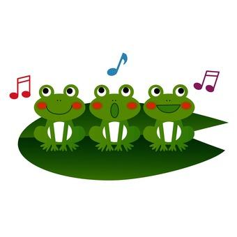 Chorus of frog