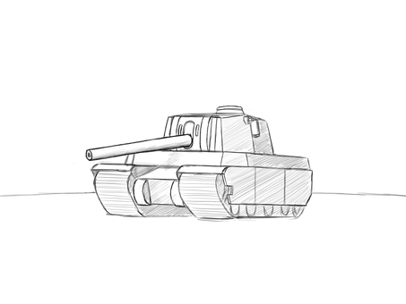4 type heavy tank