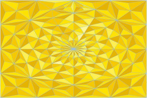 黃色幾何圖案01