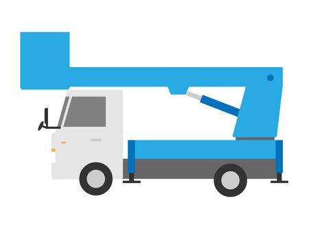 Aerial work vehicle