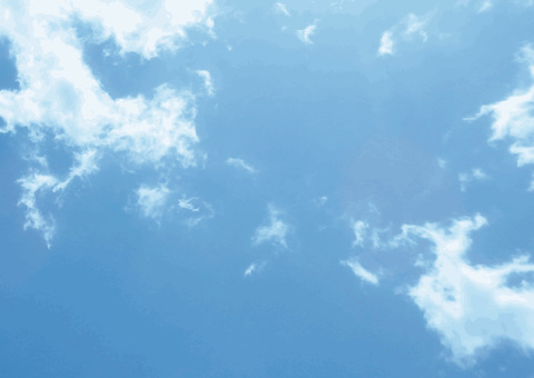 Real blue sky background material