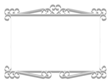 蔓藤花紋框架5