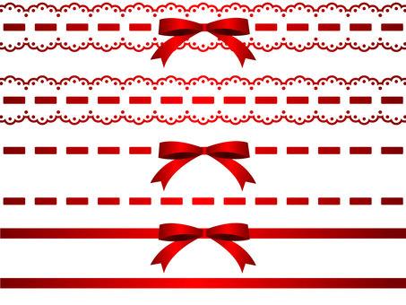 Various ribbon lines 1