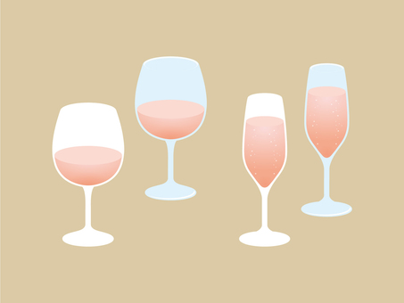 Wine and sparkling wine [Rosé]