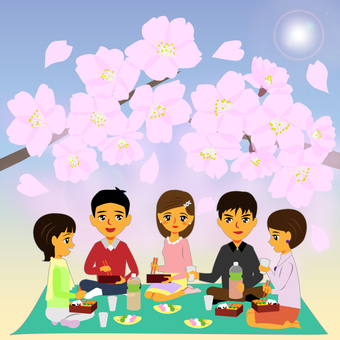 Cherry-blossom party