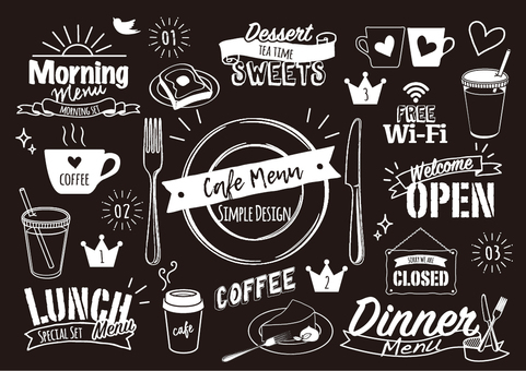 cafe design menu 2
