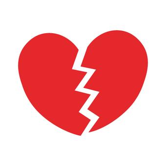 Heart (image of broken heart)