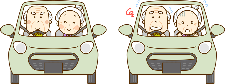 Elderly Driver 01