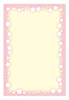 벚꽃 프레임 -1