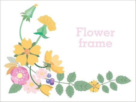 1 ~ 4 월 겨울의 꽃, 봄의 꽃 꽃의 프레임 6
