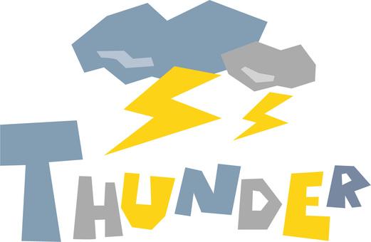 THUNDER Thunder thunder · icon
