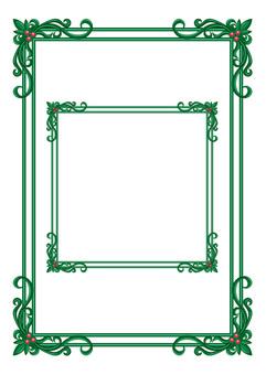 框架(生鏽的銅)