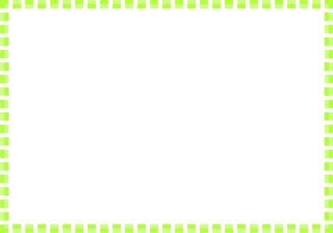 簡單的方形框架(綠色)
