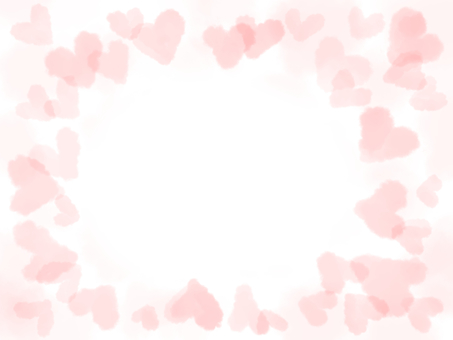 Message card fluffy heart