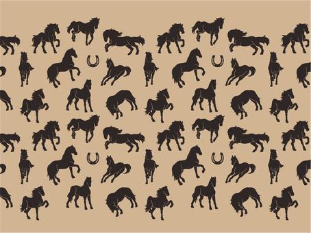 Animal pattern - horse