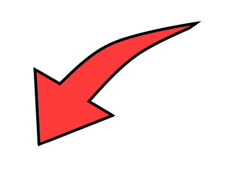 Down arrow red