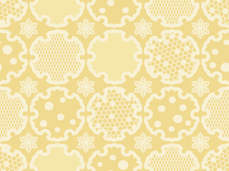 Wallpaper Snow ring 01 Loopy yellow