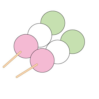 3 color dumpling