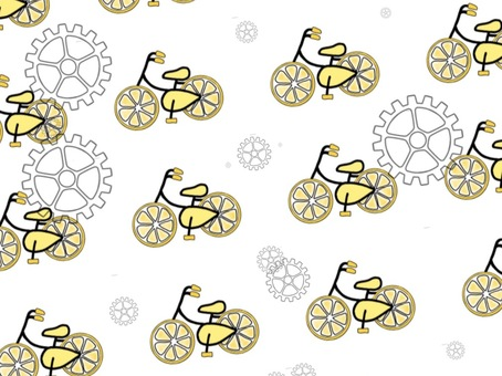 Refreshing lemon bicycle (gear)