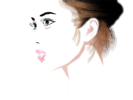Women's profile profile series 02