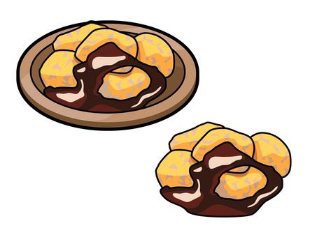 烹飪_日本甜點_芥末湯_帶線