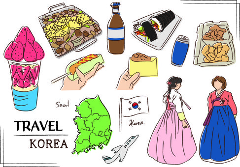 韓國韓國首爾奶酪韓國料理
