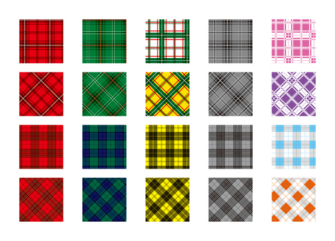 Swatch series tartan check