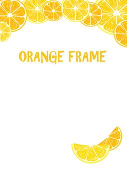 오렌지 프레임 높이