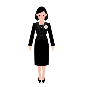 Suit lady 1