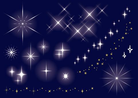 各种各样的星星
