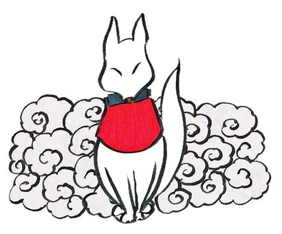 구름과 白狐