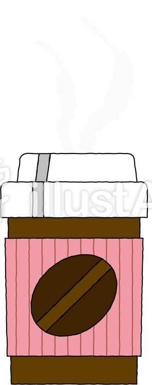 コンビニコーヒーのイラスト