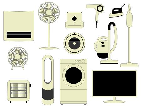 Home electronics set