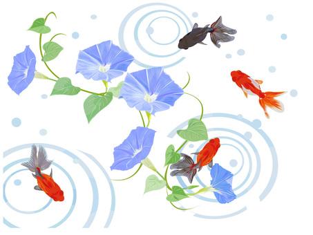 アサガオと金魚 4